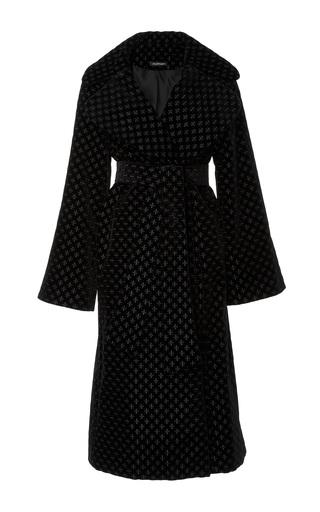 Medium jill stuart black stacey embroidered coat