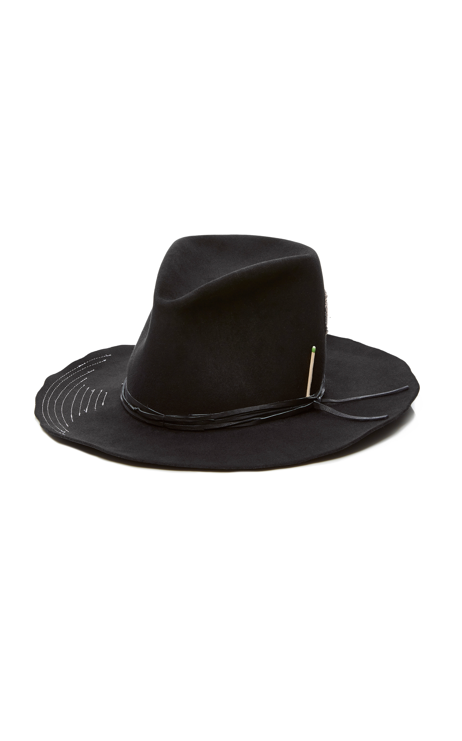 Tequila Sunset Felt Fedora Nick Fouquet