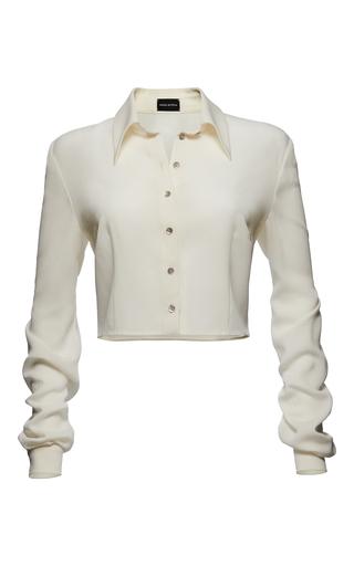 Medium magda butrym white imola shirt