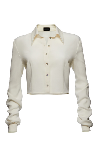 Medium magda butrym white imola shirt