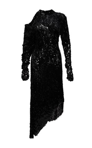 Medium magda butrym black blackpool sequin embroidered dress