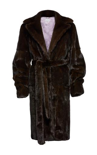 Medium magda butrym brown kazan fox fur coat