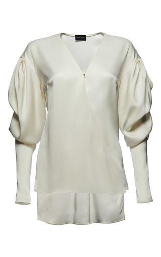 Medium magda butrym white camas shirt
