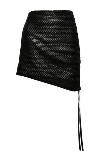 Medium magda butrym black santa maria leather skirt 2