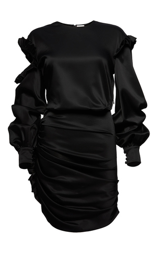 Medium magda butrym black acapulco dress