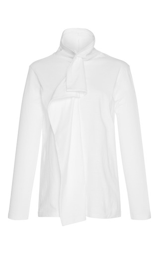 Medium kimhekim white white fish fin turtleneck