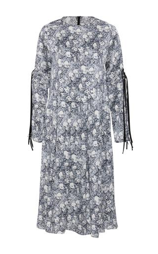 Medium shrimps print syke dress