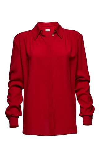 Medium magda butrym red huelva blouse 2