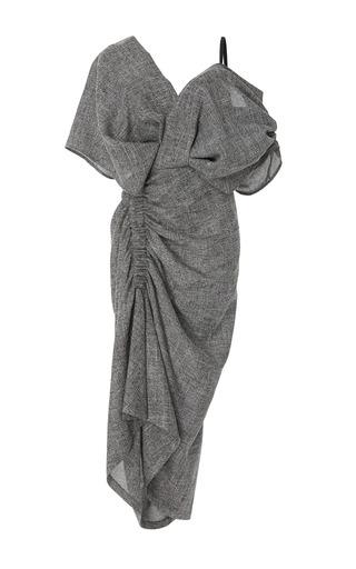 Medium acler grey hentley gathered dress