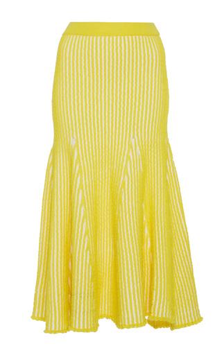 Medium ph5 yellow sally stitched flare skirt