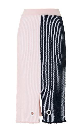 Medium ph5 stripe fae stitched skirt with studs