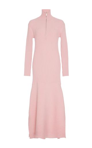 Medium ph5 pink hazel turtleneck knit dress
