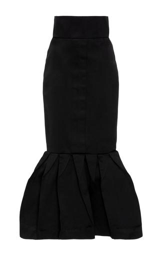Medium leal daccarett black magia dual satin skirt