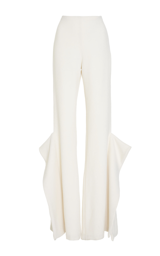 Medium leal daccarett white tucan flared pant