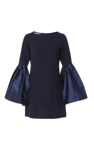 Medium leal daccarett navy campana bell sleeve dress