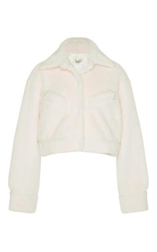 Medium kimhekim neutral faux fur jacket