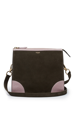 Medium bertoni green darcy crossbody