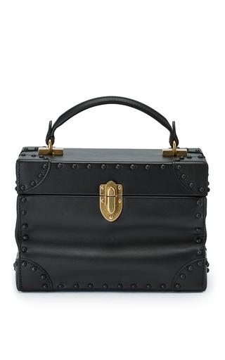 Medium bertoni black soft leather bertoncina