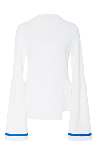 Medium jamie wei huang white lily gather top