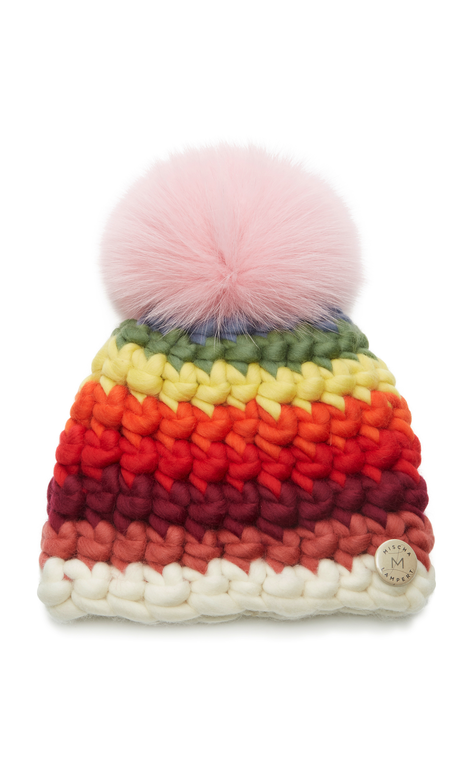 MISCHA LAMPERT STRIPED CHILDREN'S BEANIE