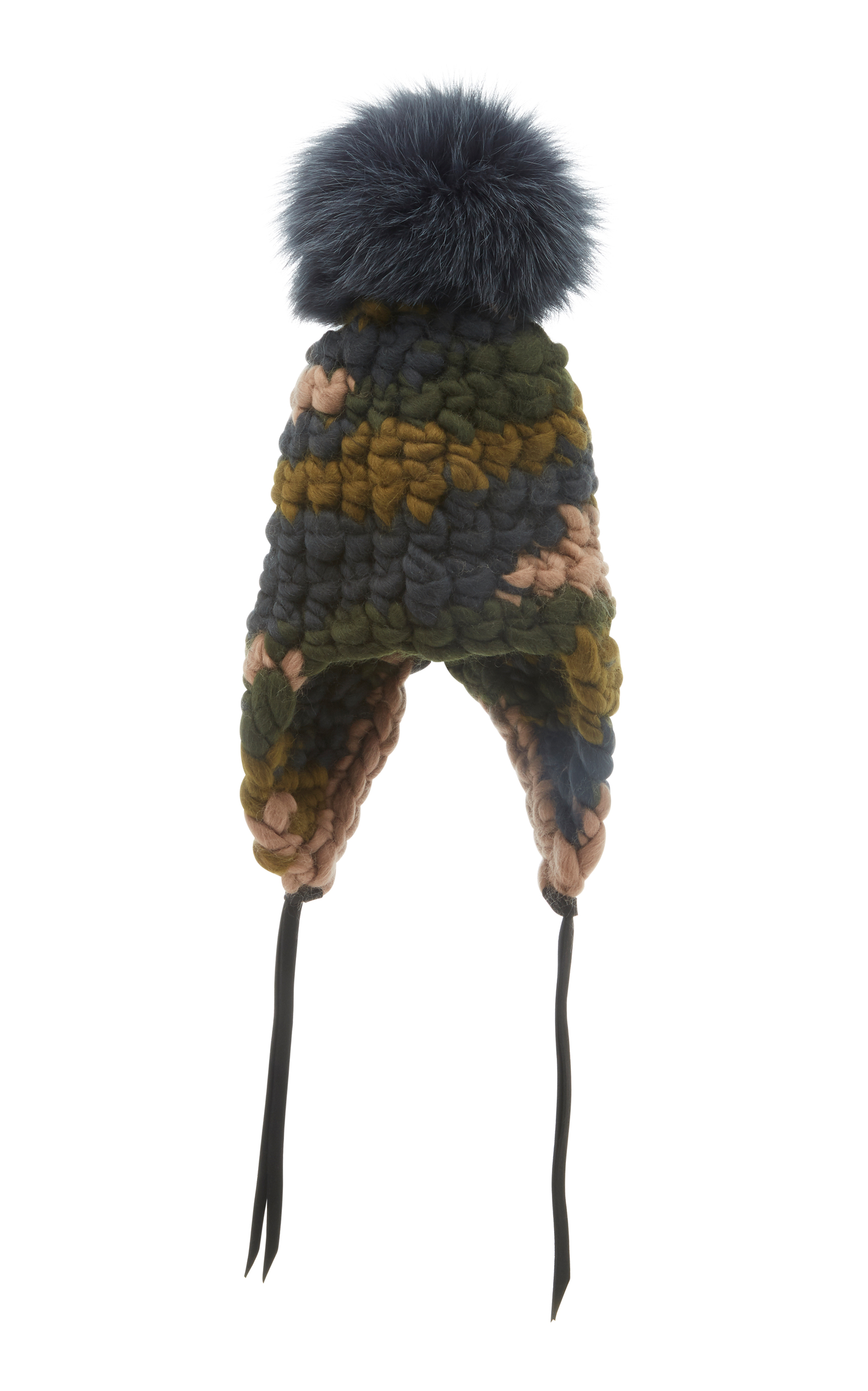MISCHA LAMPERT CHILDREN'S MERINO WOOL BEANIE