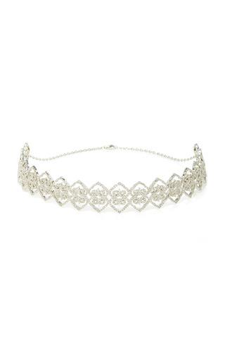 Medium colette jewelry llc silver motif choker
