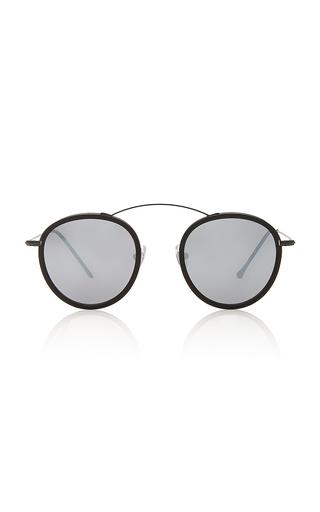 SpektreMet-ro 2 Flat Round-Frame Acetate And Stainless Steel Sunglasses