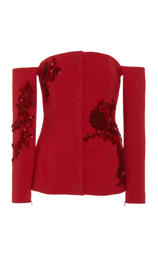 Medium semsem red camille jacket
