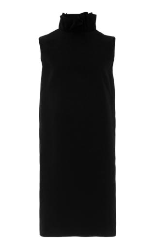 Medium semsem black camile ruffle dress