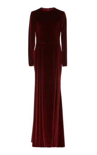 Medium semsem burgundy sireen long dress
