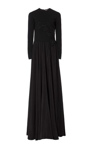 Medium semsem black camille long dress