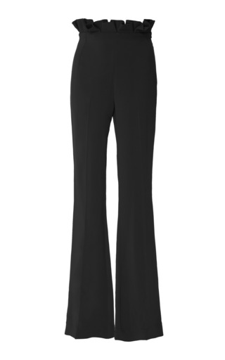 Medium semsem black camille high waisted ruffle pant