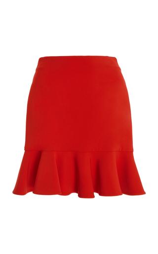 Medium semsem red camille flared mini skirt