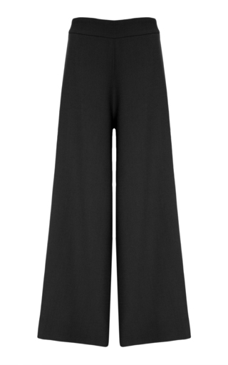 Medium bouguessa black high waist cropped pants