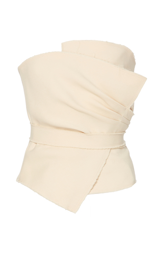 Medium yeon neutral hiro strapless top 2