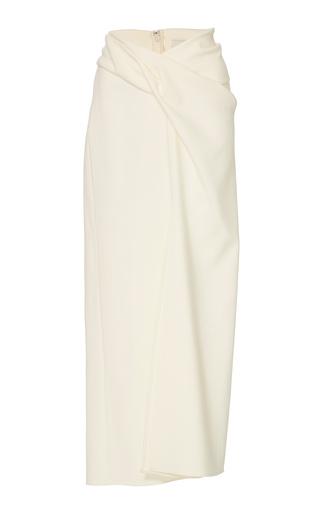 Medium yeon neutral bunko slit skirt