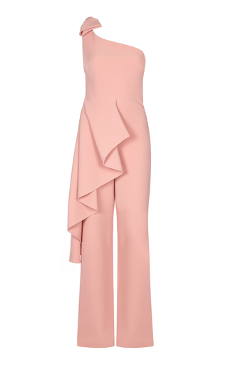 Medium safiyaa pink linneara ruffle jumpsuit