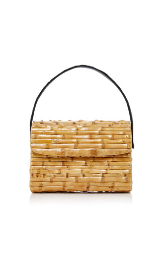 GLORINHA PARANAGUA | Glorinha Paranagua Milano Bamboo Tote | Goxip
