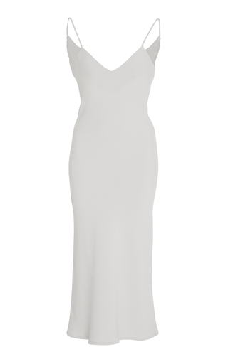 Medium marei 1998 neutral camassia slip dress