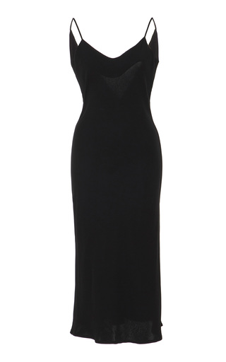 Medium marei 1998 black camassia slip dress 2