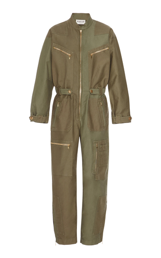 Medium maison mayle green tommasa romper