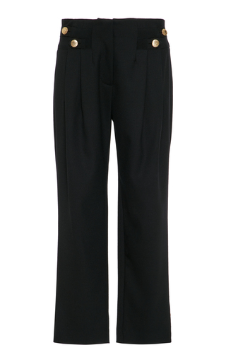 Medium maison mayle black vali pant