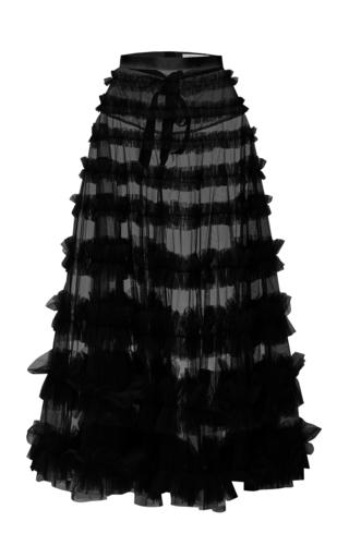 Medium rachel gilbert black eira long skirt