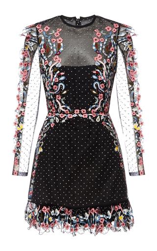 Medium rachel gilbert black alvida dress