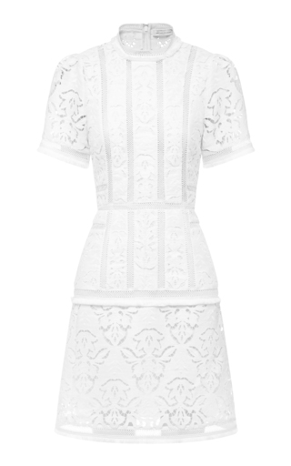 Medium rachel gilbert white sylvi shift dress