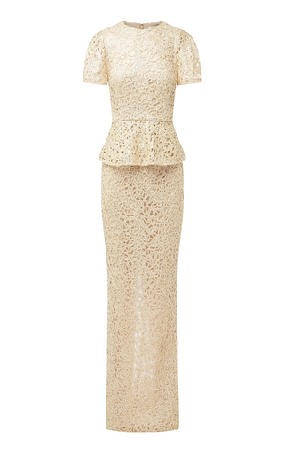 Medium rachel gilbert gold iona gown