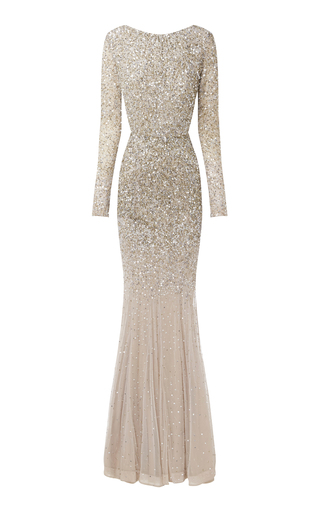 Medium rachel gilbert brown viera gown