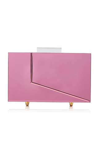 Medium l afshar pink small pandora clutch