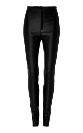 Medium zeynep arcay black high waist leather pants