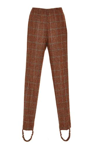Medium zeynep arcay plaid plaid alpaca stirrup pants